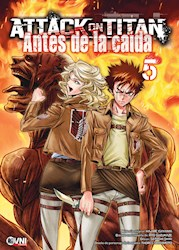 Libro Attack On Titan : Antes De La Caida Vol. 5