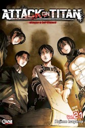 Libro Attack On Titan  Vol. 21