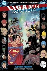 Libro Liga De La Justicia Vol . 5 - Justicia Perdido