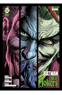 Papel BATMAN TRES JOKERS (COLECCION DC BLACK LABEL) [ILUSTRADO] (CARTONE)