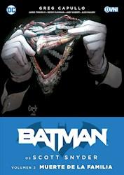 Papel Batman De Scott Snyder Vol.2, Muerte De La Familia