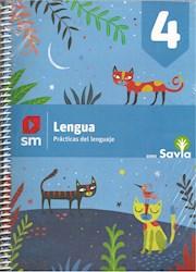 Libro Lengua 4 Kit  Savia