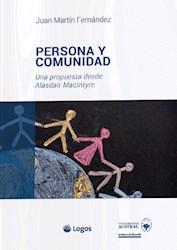Libro Persona Y Comunidad