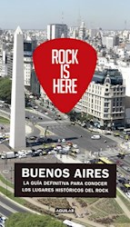 Libro Rock Is Here , Buenos Aires