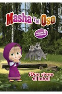 Papel MASHA Y EL OSO QUE VIENE EL LOBO (ILUSTRADO) (RUSTICO)