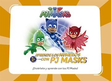 Papel Pj Masks: Aprende Los Numeros Con Pj Mas