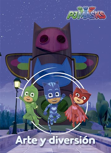 Papel Pj Masks: Arte Y Diversion