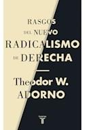 Papel RASGOS DEL NUEVO RADICALISMO DE DERECHA (COLECCION PENSAMIENTO)