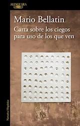Libro Carta Sobre Los Ciegos Para Uso De Los Que Ven