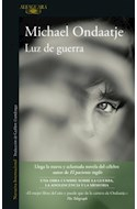 Papel LUZ DE GUERRA (COLECCION NARRATIVA INTERNACIONAL)