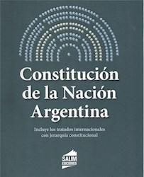 Libro Constitucion De La Nacion Argentina C/Pactos Y Ref