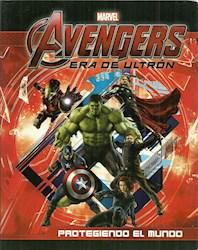 Papel Avengers Protegiendo El Mundo