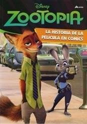 Libro Zootopia La Historia De La Pelicula En Comic