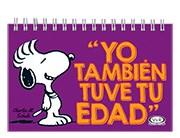 Libro Yo Tambien Tuve Tu Edad  Snoopy