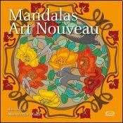 Papel Color Block - Mandalas Art Noveau
