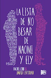 Libro La Lista De No Besar De Naomi Y Ely