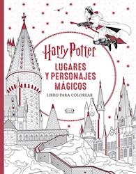Libro Harry Potter  Lugares Y Personajes Magicos