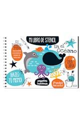 Papel EN EL OCEANO (MI LIBRO DE STENCIL) (ANILLADO) (CARTONE)