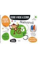Papel NUMEROS (ESCRIBE Y VUELVE A ESCRIBIR) (BORRADOR + ROTULADOR EN 2 COLORES) (CARTONE9