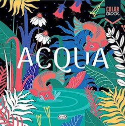 Papel Color Block - Acqua