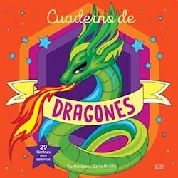 Papel Cuaderno De Dragones