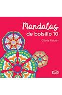 Papel MANDALAS DE BOLSILLO 10 [TAPA ROJA] (BOLSILLO)