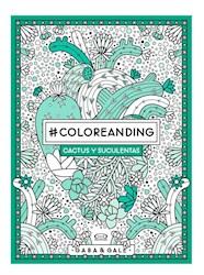 Papel Coloreanding Cactus Y Suculentas