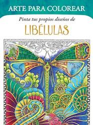 Libro Pinta Tus Propios Diseños De Libelulas