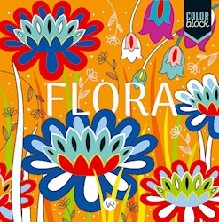 Papel Color Block - Flora