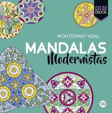 Papel Color Block - Mandalas Modernistas