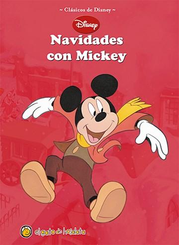 Papel Navidades Con Mickey