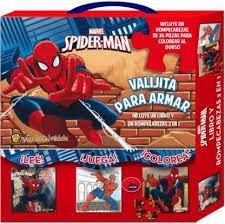 Libro Spider-Man  Valijita Para Armar