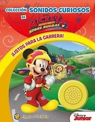 Papel Sonidos Curiosos - Mickey Listos Para La Carrera
