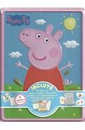 Papel PEPPA PIG [LIBRO CON CUENTOS + 50 STICKERS + ROMPECABEZAS PARA COLOREAR] (LATA)