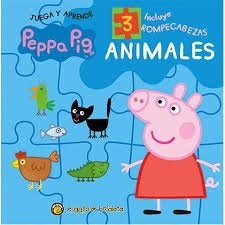Libro Peppa Pig : Animales ( Rompecabezas )