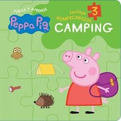 Libro Peppa Pig : Camping ( Rompecabezas )