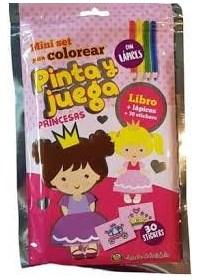 Papel Princesas - Pinta Y Juega