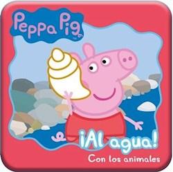 Libro Peppa Pig Al Agua ! Con Los Animales (Para La Hora Del Ba/O)