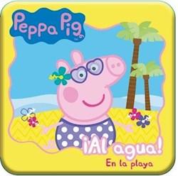 Libro Peppa Pig Al Agua ! En La Playa (Para La Hora Del Ba/O)