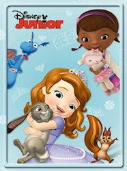 Libro 5. Disney Junior Nenas  Tin Disney