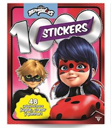 Libro 1000 Stickers : Miraculous