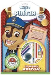 Libro Vamos A Pintar : Paw Patrol