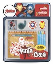 Libro Pinta Y Crea : Avengers