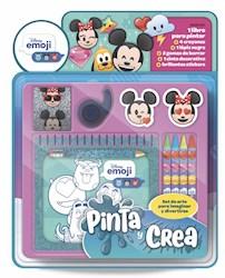 Libro Pinta Y Crea : Disney Emoji