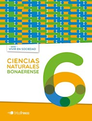 Libro Ciencias Naturales 6 Bonaerense  Vivir En Sociedad