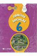 Papel CIENCIAS SOCIALES 6 TINTA FRESCA HACIENDO CIENCIA NACION (NOVEDAD 2019)