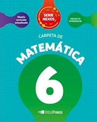 Libro Carpeta De Matematica 6