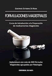 Libro Formulaciones Magistrales.Curso De Intro.A La Preparacion De Medicamentos