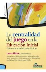 Papel LA CENTRALIDAD DEL JUEGO EN LA EDUCACION INICIAL