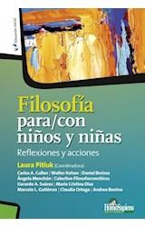 Papel FILOSOFIA PARA/CON NIÑOS Y NIÑAS
